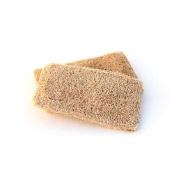 Two rectangle shaped tori wood multipurpose scrub