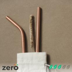 Travel Copper Straw Kit